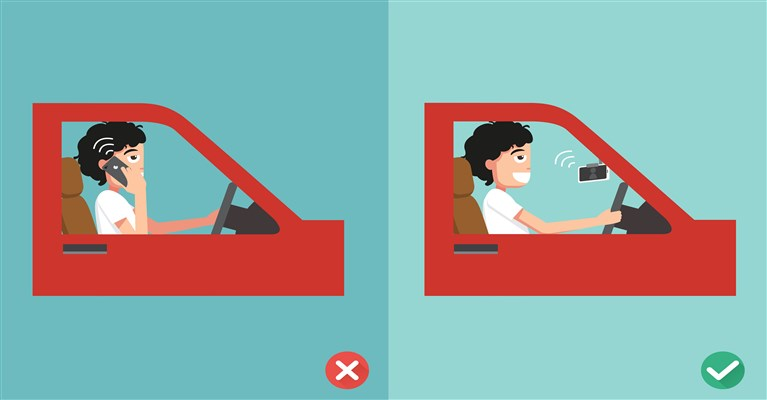 Distracted Driver (Spanish)